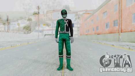 Power Rangers S.P.D - Green для GTA San Andreas второй скриншот