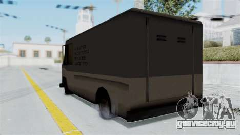 Boxville from Manhunt для GTA San Andreas вид слева