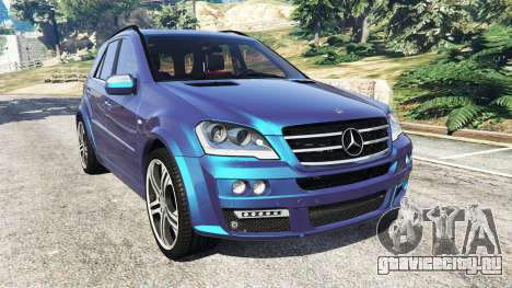 Mercedes-Benz ML63 (W164) Brabus 2009 для GTA 5