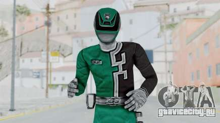 Power Rangers S.P.D - Green для GTA San Andreas
