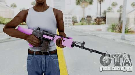 IOFB INSAS Light Pink для GTA San Andreas третий скриншот