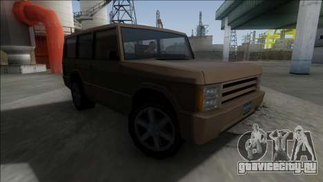 New Huntley для GTA San Andreas вид слева