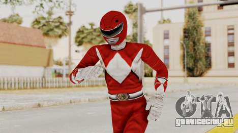 Mighty Morphin Power Rangers - Red для GTA San Andreas