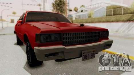 Chevrolet Caprice Classic 1986 v2.0 для GTA San Andreas