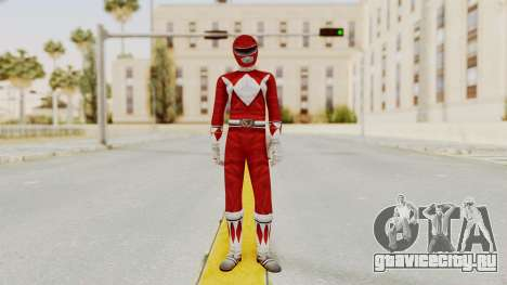 Mighty Morphin Power Rangers - Red для GTA San Andreas второй скриншот