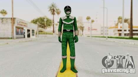 Power Rangers Time Force - Green для GTA San Andreas второй скриншот