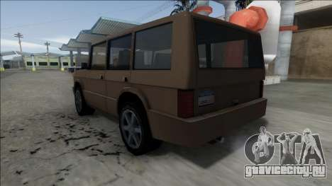 New Huntley для GTA San Andreas вид справа