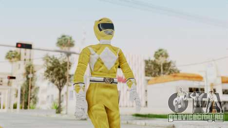 Mighty Morphin Power Rangers - Yellow для GTA San Andreas