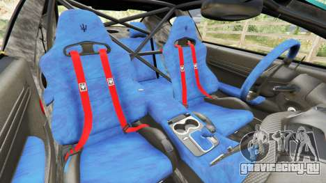 Maserati GranTurismo MC Stradale для GTA 5 вид справа