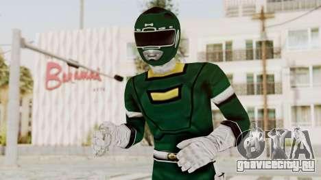 Power Rangers Turbo - Green для GTA San Andreas