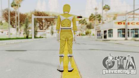 Mighty Morphin Power Rangers - Yellow для GTA San Andreas третий скриншот