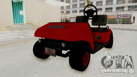 GTA 5 Gambler Caddy Golf Cart для GTA San Andreas