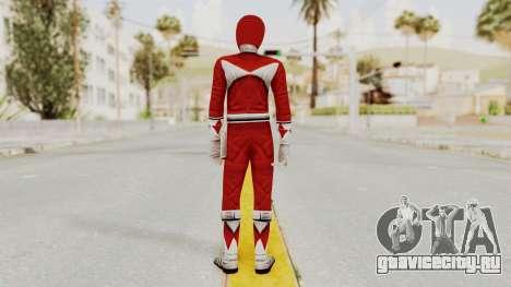 Mighty Morphin Power Rangers - Red для GTA San Andreas третий скриншот