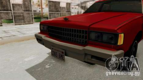 Chevrolet Caprice Classic 1986 v2.0 для GTA San Andreas вид сбоку