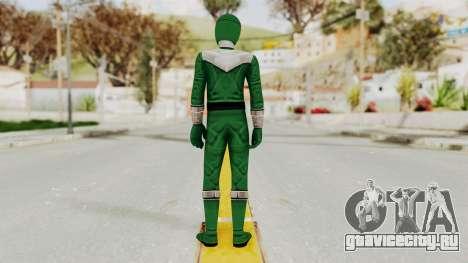 Power Rangers Time Force - Green для GTA San Andreas третий скриншот