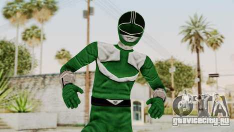Power Rangers Time Force - Green для GTA San Andreas