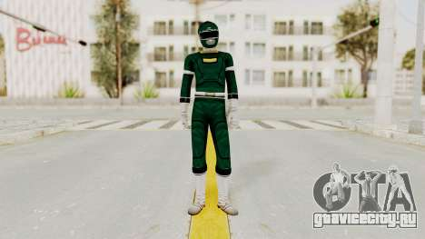 Power Rangers Turbo - Green для GTA San Andreas второй скриншот