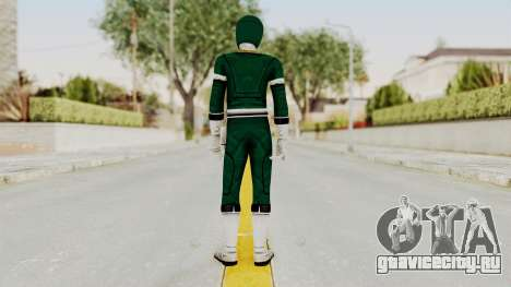 Power Rangers Turbo - Green для GTA San Andreas третий скриншот