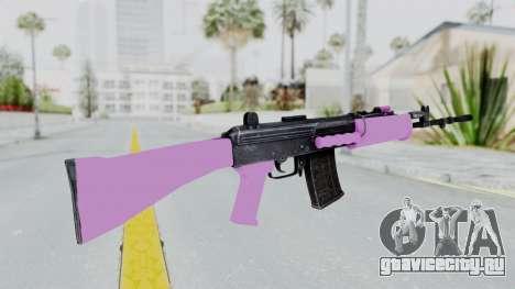 IOFB INSAS Light Pink для GTA San Andreas второй скриншот