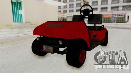 GTA 5 Gambler Caddy Golf Cart для GTA San Andreas