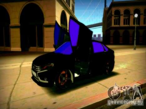 Lada Vesta Lambo для GTA San Andreas вид сзади слева