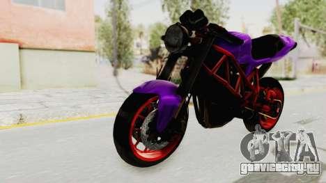 Ducati 1098 Nakedbike для GTA San Andreas вид справа