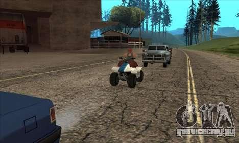 Обновленный трафик для GTA San Andreas второй скриншот