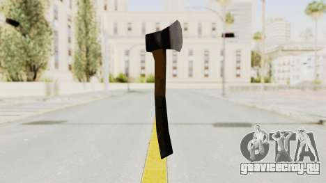 Liberty City Stories Handaxe для GTA San Andreas второй скриншот