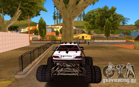 Peugeot Persia Full Sport Monster для GTA San Andreas вид сзади слева