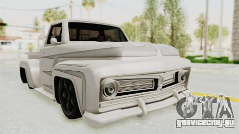 GTA 5 Slamvan Stock PJ1 для GTA San Andreas вид сзади