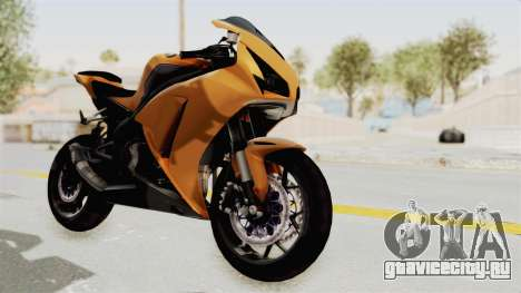 Honda CBR1000RR High Modif для GTA San Andreas