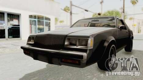 Buick Regal 1986 для GTA San Andreas вид справа