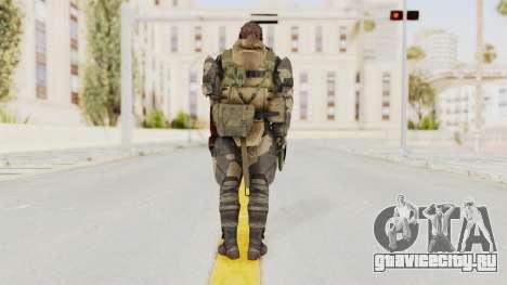 MGSV Phantom Pain Venom Snake Battle Dress для GTA San Andreas третий скриншот