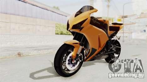 Honda CBR1000RR High Modif для GTA San Andreas вид сзади слева