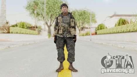 COD BO USA Soldier Ubase для GTA San Andreas второй скриншот