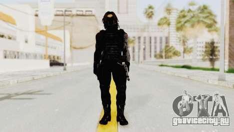 Captain America Civil War - Winter Soldier для GTA San Andreas второй скриншот