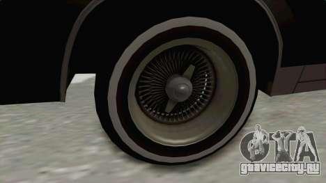 Buick Regal 1986 для GTA San Andreas вид сзади