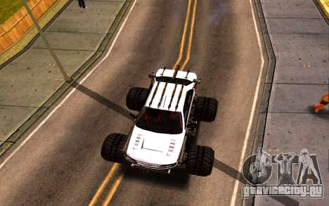 Peugeot Persia Full Sport Monster для GTA San Andreas вид сзади