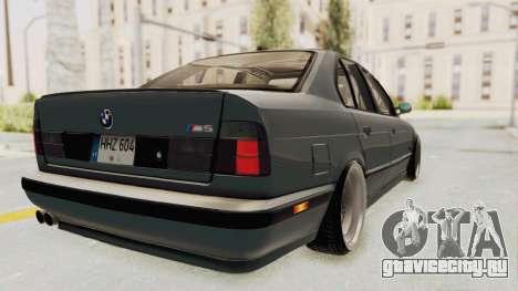 BMW M5 E34 USA для GTA San Andreas вид слева