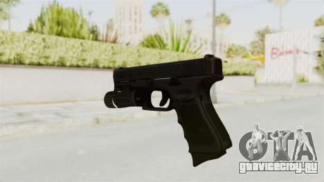 Glock 19 Gen4 Flashlight для GTA San Andreas третий скриншот