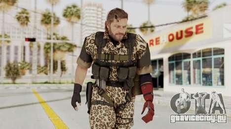 MGSV The Phantom Pain Venom Snake No Eyepatch v8 для GTA San Andreas