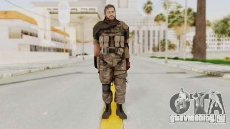 MGSV The Phantom Pain Venom Snake Sc No Patch v9 для GTA San Andreas второй скриншот