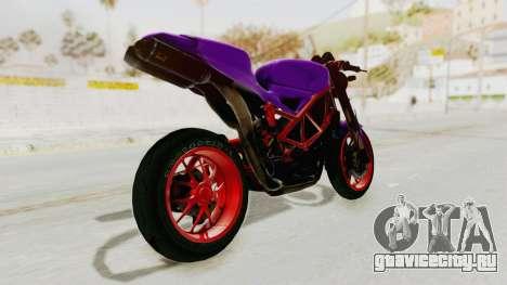 Ducati 1098 Nakedbike для GTA San Andreas вид слева
