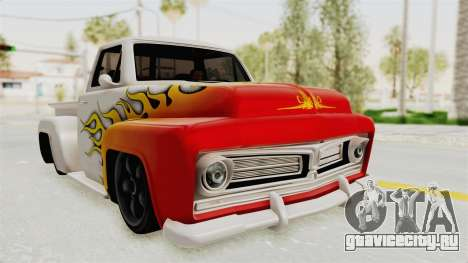 GTA 5 Slamvan Stock PJ1 для GTA San Andreas вид сбоку