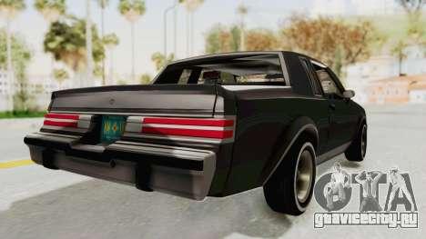 Buick Regal 1986 для GTA San Andreas вид слева