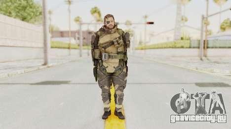 MGSV Phantom Pain Venom Snake Battle Dress для GTA San Andreas второй скриншот