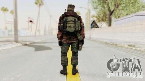 Battery Online Russian Soldier 10 v1 для GTA San Andreas третий скриншот