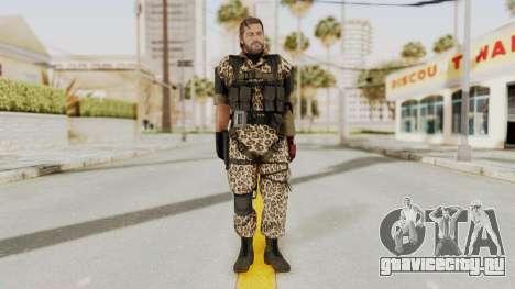 MGSV The Phantom Pain Venom Snake No Eyepatch v8 для GTA San Andreas второй скриншот