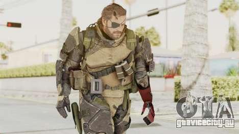 MGSV Phantom Pain Venom Snake Battle Dress для GTA San Andreas