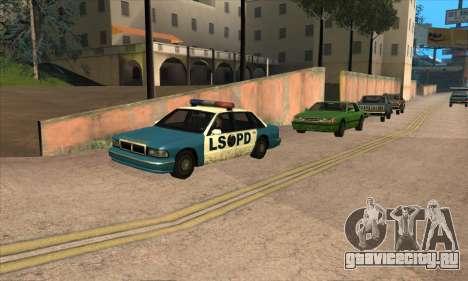 Обновленный трафик для GTA San Andreas четвёртый скриншот
